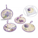 wholesale Decoration: Under ceramic pot decorated lavender