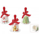 wholesale Music Instruments:Ceramic Christmas bell