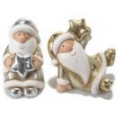 Père Noël décorations en céramique