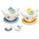 Großhandel Figuren & Skulpturen: Großhandel farbige keramische Teekanne