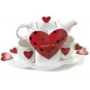 Chiny hurtowych kubki czajnik serce