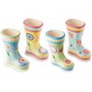 wholesale Garden & DIY store: Wholesale ceramic boots pots