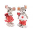 Gros souris  valentine dans l'amour