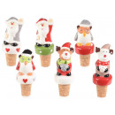 wholesale Figures & Sculptures: Wholesaler Christmas ceramic caps
