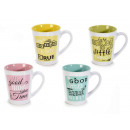 Wholesaler of colored ceramic mugs