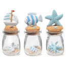 wholesale Pictures & Frames: Wholesale glass jars decorate the sea