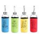 mayorista Casa y decoración: Mayorista de botellas de vidrio con estuche impres