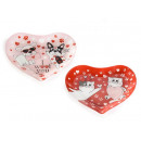 wholesale Pictures & Frames: Wholesale glass heart plate