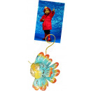 wholesale Pictures & Frames: Photo holder, sheet figure fish , height 9 cm