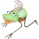 wholesale Pictures & Frames: Photo holder, sheet figure frog , height ...