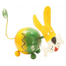 wholesale Pictures & Frames: Photo holder, sheet figure dog , height 11 cm
