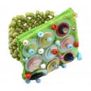 ingrosso Gioielli & Orologi: Ring  Pailette   Colore: verde, formato flessibilit