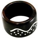 ingrosso Gioielli & Orologi: Ring  Wave  di legno e metallo Sono