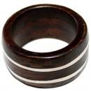 ingrosso Gioielli & Orologi: Ring  Band  in legno e metallo Sono