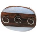 ingrosso Gioielli & Orologi: Ring  spirali  dal  Sono in legno, metallo e perle