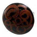 ingrosso Gioielli & Orologi: Anello in acciaio  inox con cannella u. Resina, for