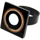 ingrosso Gioielli & Orologi: Ordinati anello in  resina, bambù u. Formati Madrep