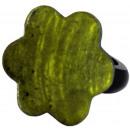 ingrosso Gioielli & Orologi: Anello in resina,  madreperla   verde , Ø 32 ...