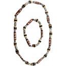 Halskette + Armband aus Holz