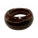 ingrosso Gioielli & Orologi: Anello in legno di  cocco allineati formati