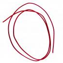 Großhandel Zubehör & Ersatzteile: Lederriemen 100 cm, Ø 2 mm, weinrot