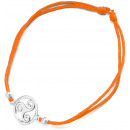 wholesale Jewelry & Watches: Bracelet Triskele , 925 silver and cloth, ...