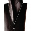 groothandel Sieraden & horloges: Ketting hanger m   Anker & Steering  silver