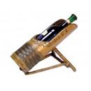 Weinflaschenhalter aus Bambus, 30 x 22 cm