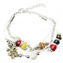 groothandel Sieraden & horloges: Armband  New Fashion , wit
