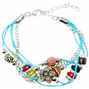 wholesale Jewelry & Watches: Bracelet New Fashion , light blue