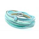 grossiste Bijoux & Montres: Bracelet, cuir, turquoise