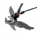 wholesale Jewelry & Watches: Necklace with Pendant Eagle , about 50 mm wide
