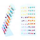 grossiste Bijoux & Montres: Présentoir avec 12 paires de bouchons d'oreill
