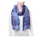 Großhandel Tücher & Schals:Schal, Farbe: hellblau