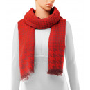 Scarf, winter collection, color: red