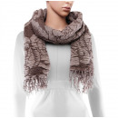 Scarf, winter collection, color: camel