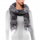 Scarf, winter collection, color: gray