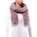 Großhandel Tücher & Schals: Schal, Winterkollektion, Farbe: purpur