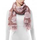 Großhandel Tücher & Schals: Schal, Winterkollektion, Farbe: purple