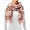 Großhandel Tücher & Schals: Schal, Winterkollektion, Farbe: camel