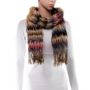 Scarf, winter collection, color: purple