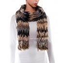 Großhandel Tücher & Schals: Schal, Winterkollektion, Farbe: grau
