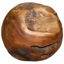 Bal gemaakt van teak hout, Ø 30 cm