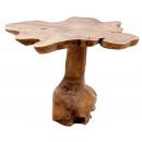 Teak tafel, hoogte: 50 cm