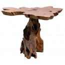 Stół z drewna tekowego, wysokość 75 cm