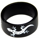 Ring Sonoholz Gecko Silver sorted sizes