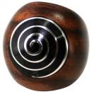 groothandel Sieraden & horloges: Gesorteerd ring  Sonoholz met spiraal maten