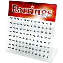 groothandel Sieraden & horloges: Weergave met  oordopjes gemaakt van roestvrij staal