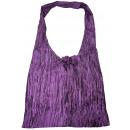 Großhandel Handtaschen: Schultertasche, ca. 34 cm breit, Farbe: violett
