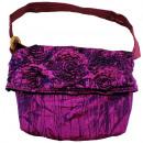 Großhandel Handtaschen: Schultertasche, 30 x 28 cm, Farbe: pink